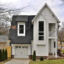 Contemporary Exterior by Dream Build Nashville