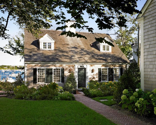 Red Brick Cape Cod | Houzz