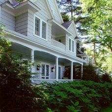Traditional Exterior by Rugo/ Raff Ltd. Architects
