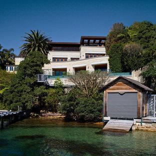 Klassisches Haus mit Steinfassade in Sydney