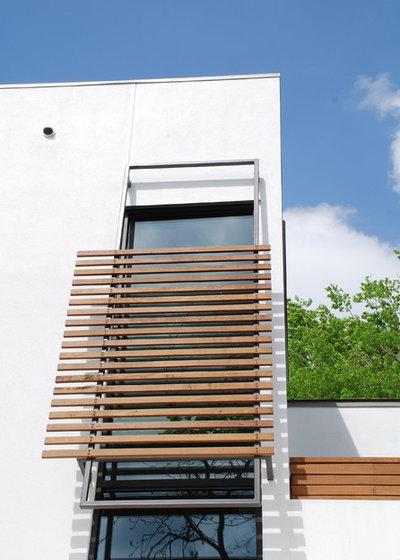 Asian Exterior by Hugh Jefferson Randolph Architects