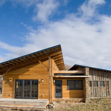 Rustic Exterior by Montana Reclaimed Lumber Co.