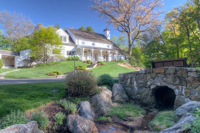 Farmhouse Exterior by Mitchell Wilk Architecture
