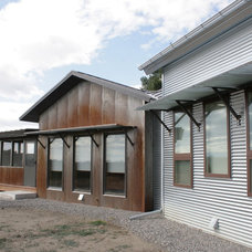 Contemporary Exterior by High Plains Architects, P.C.
