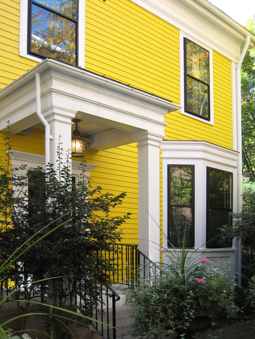 Pale Yellow Siding Ideas Pictures Remodel And Decor