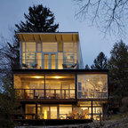 Port Ludlow House Modern Exterior Seattle By Finne