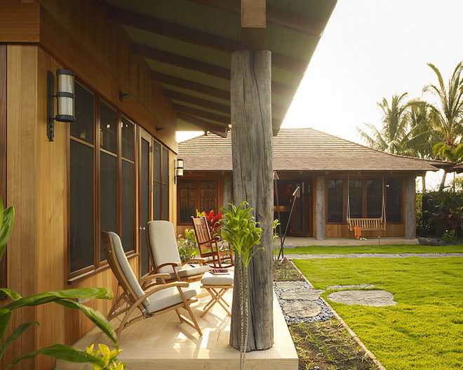 Tropical Exterior by Slifer Designs