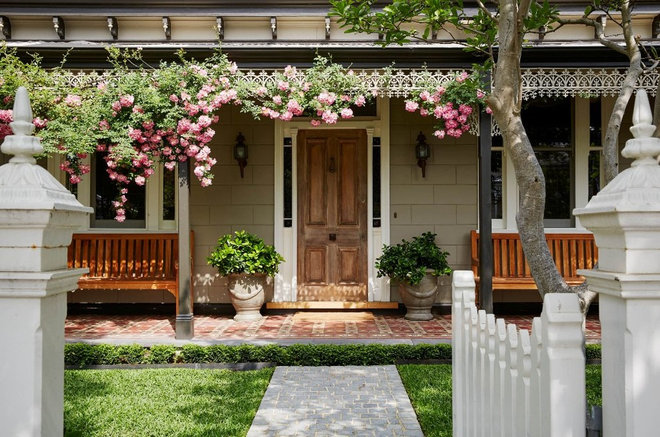 Traditional Exterior by Semken Landscaping