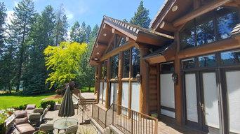 Hayden Lake Log Home