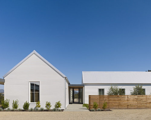 Farmhouse One Story Exterior Design Ideas Remodels Amp Photos