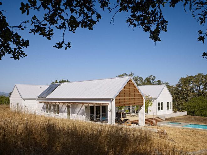 Farmhouse Exterior by Nick Noyes Architecture