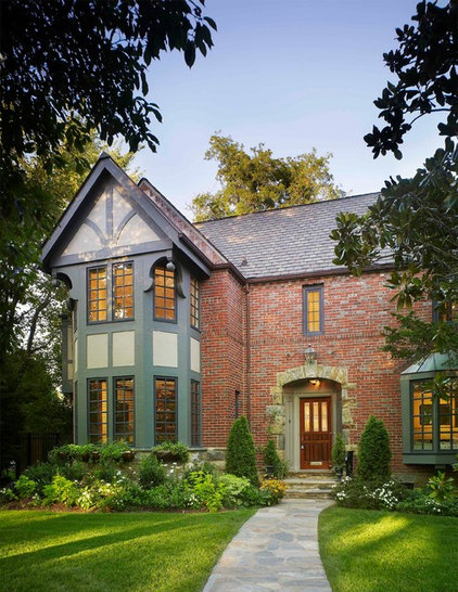 Traditional Exterior by Luther Paul Weber AIA, Architect