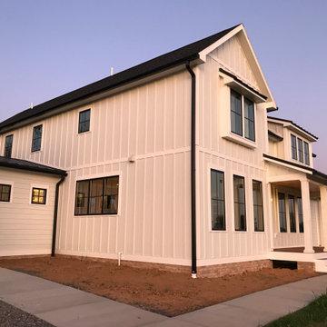 Hedgesville, Modern, Black and White Farmhouse