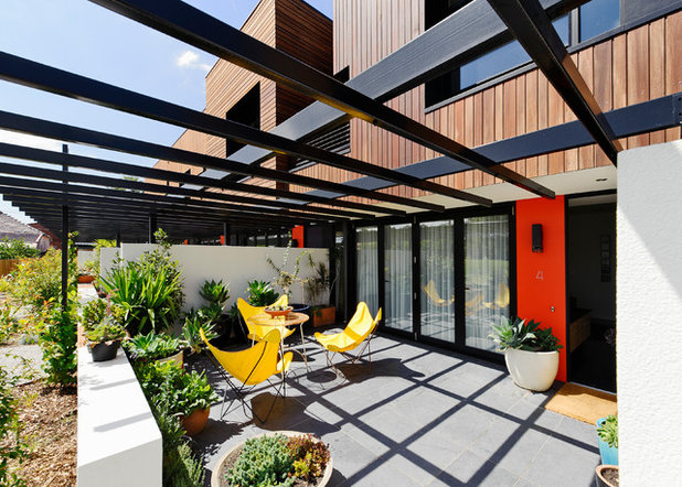 Contemporary Exterior by Six Degrees Architects
