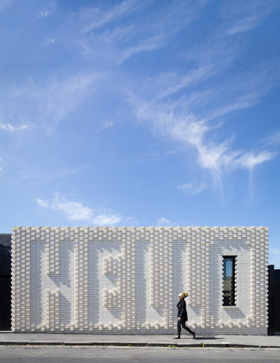 Contemporain Façade by OOF! Architecture