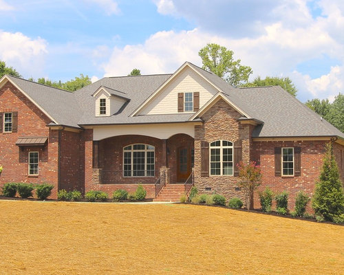 Craftsman One Story Exterior Design Ideas Pictures
