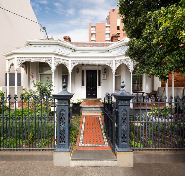 Victorian Exterior by Co-lab Architecture