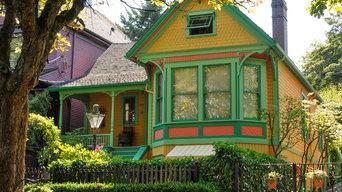Heritage houses: Painted Ladies- House 1