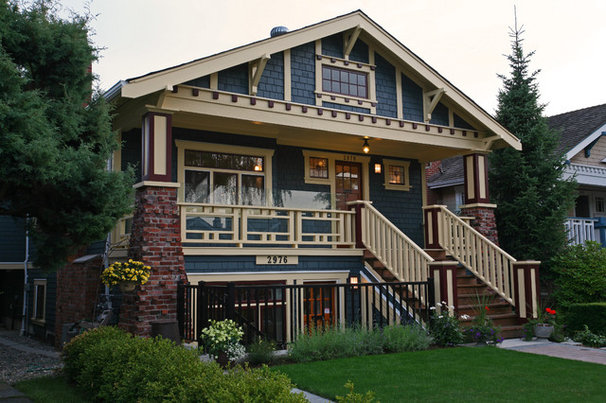 Craftsman Exterior by Kenorah Design + Build Ltd.