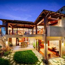 Modern Exterior by Geoff Captain Studios
