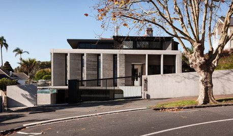Houzz Hовая Зеландия: Современный дом в историческом квартале в Окленде