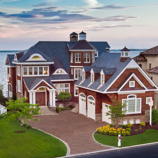 Example of an eclectic exterior home design in Other