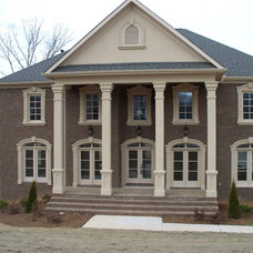 Traditional Exterior by AHB General Contractors
