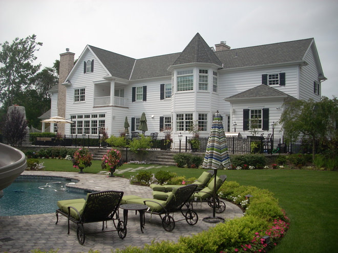 Traditional Exterior by Thomas Domanico Architect