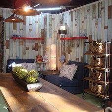 Eclectic Exterior HGTV'd Indoor/Outdoor converted garage w/Jamie Durie
