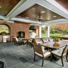 Traditional Patio by Hiland Hall Turner Architects, P.A.