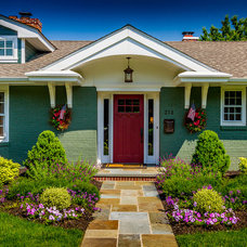 Traditional Exterior by Canton Custom Homes