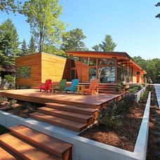 Modern Exterior by Jeff Jordan Architects LLC