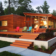 Modern Exterior by Jeff Jordan Architects LLC