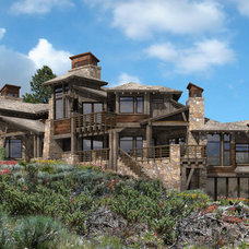 Transitional Exterior by Entrada, LLC