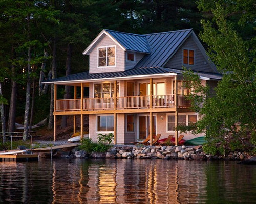 Lake house ideas pictures remodel and decor for Rustic lake house plans