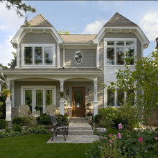 Traditional Exterior by Jeremy Lew & Assoc., Inc.