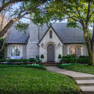 Inspiration For A Transitional Exterior Home Remodel In Dallas