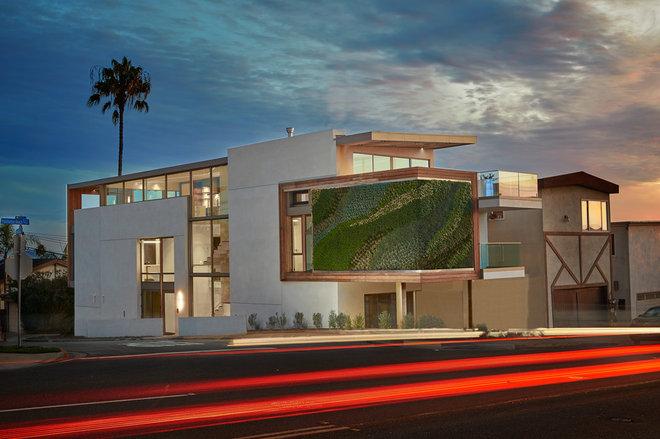 Contemporary Exterior by Buchmann Design