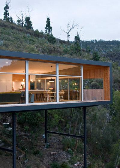 Modern Exterior by Jasmin Latona Photography