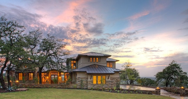 Contemporary Exterior by Geschke Group Architecture