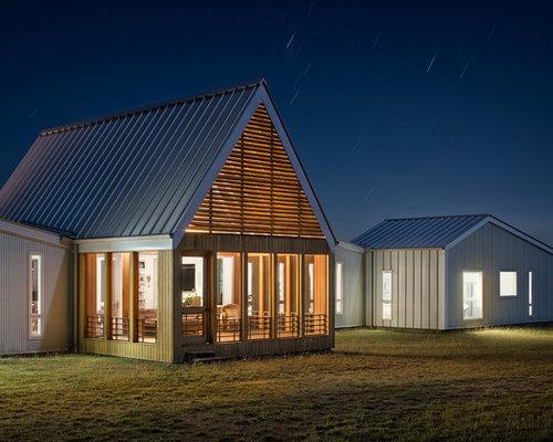 75 Contemporary Gable Roof Ideas Explore Contemporary