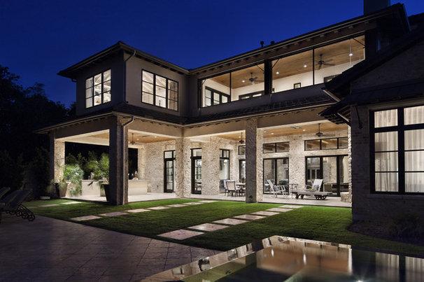 Contemporary Exterior by JAUREGUI Architecture Interiors Construction