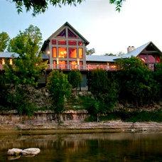 Traditional Exterior by Tony Roberts Custom Homes