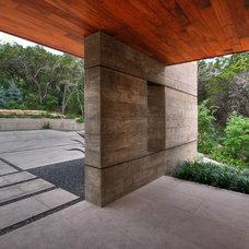 Modern Exterior by Cornerstone Architects