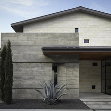 contemporary exterior by Cornerstone Architects