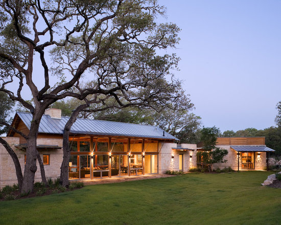 Texas Hill Country Style Home Houzz