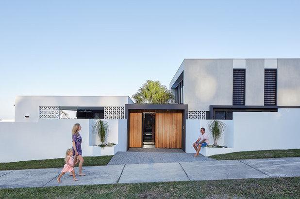 Modern Exterior by Reece Keil Design