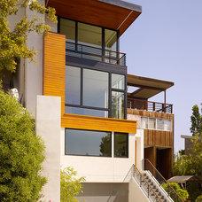 Contemporary Exterior by Design Line Construction, Inc.