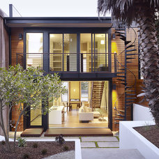 Modern Exterior by John Maniscalco Architecture