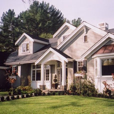 Traditional Exterior by DOUGLAS A. MCQUILLAN - ARCHITECT